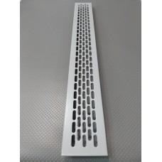 Алюмінієва решітка 480*60мм колір RAL7040